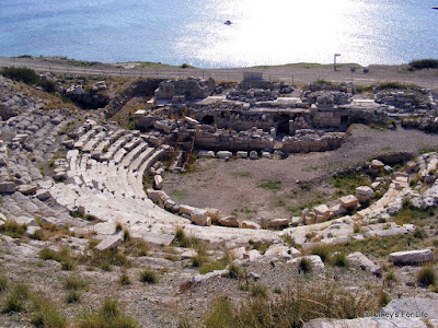 Theatre At Knidos Near Datça