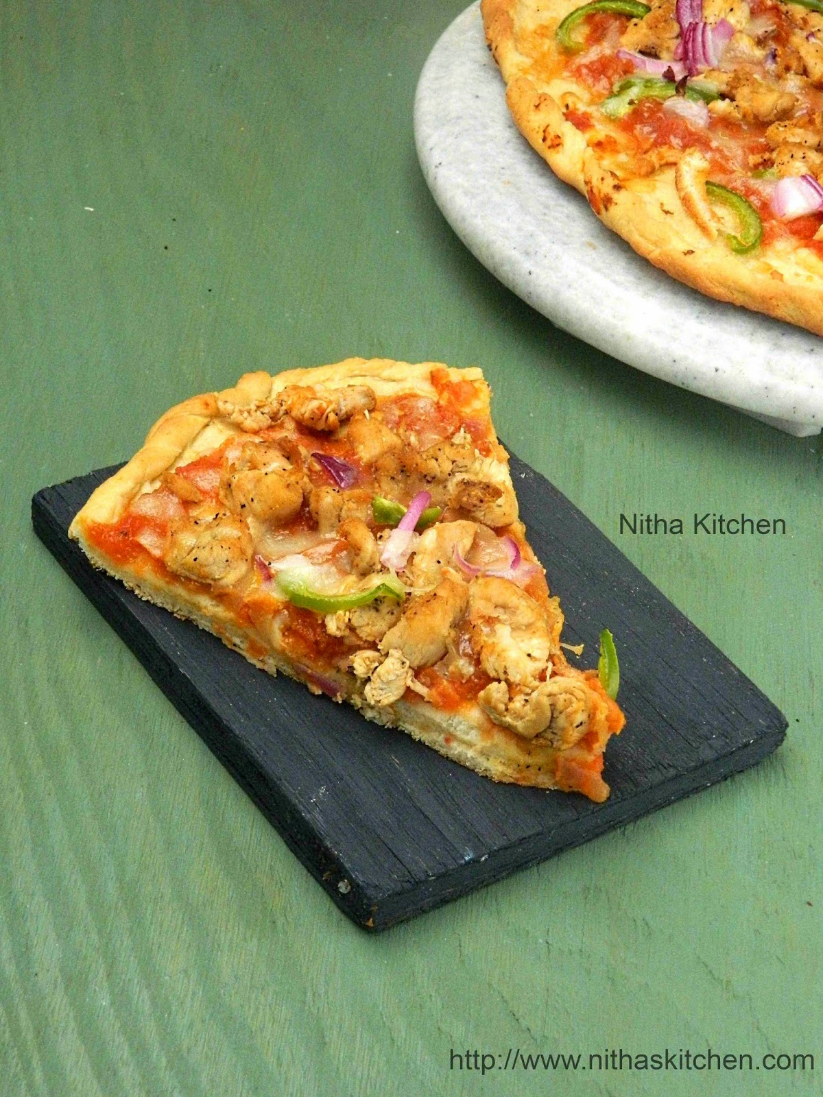 nitha kitchen pizza