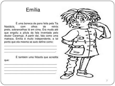 Emília Sítio do Picapau Amarelo