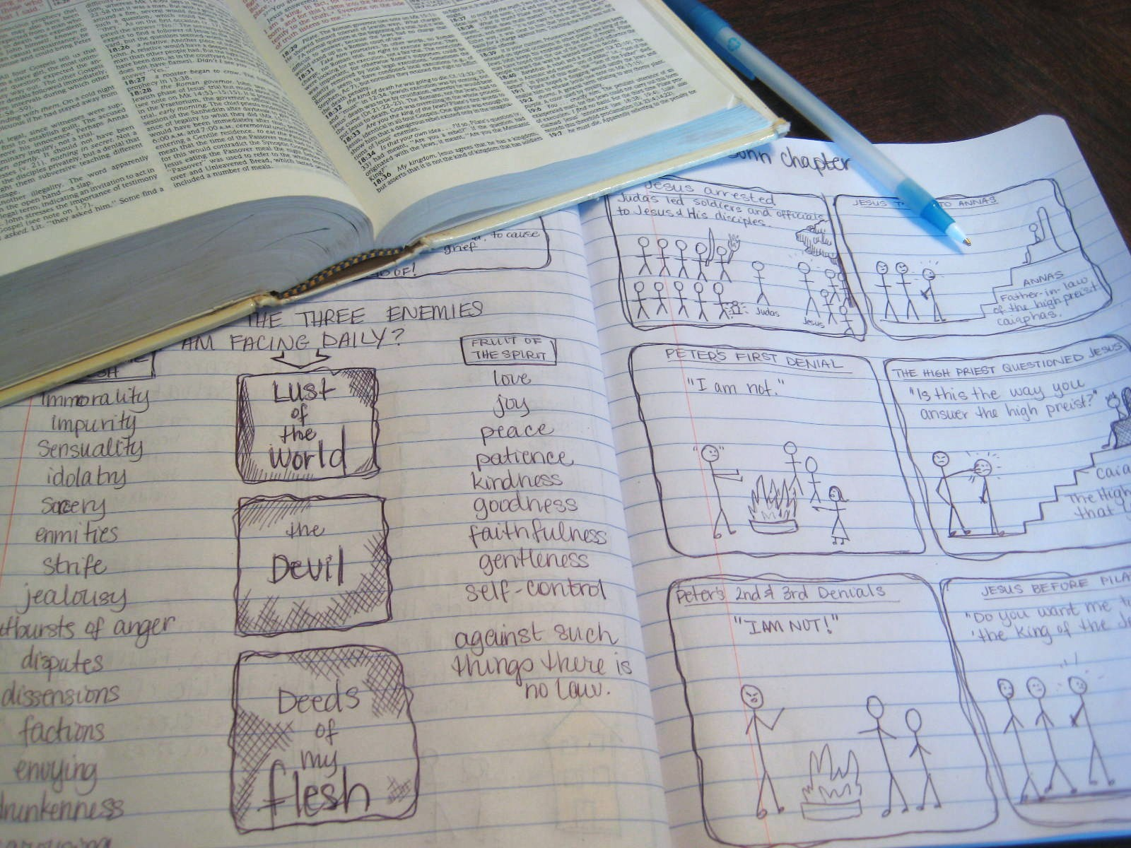 how to make a bible study journal