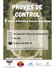 PROVES DE CONTROL