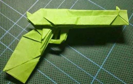 origami gun