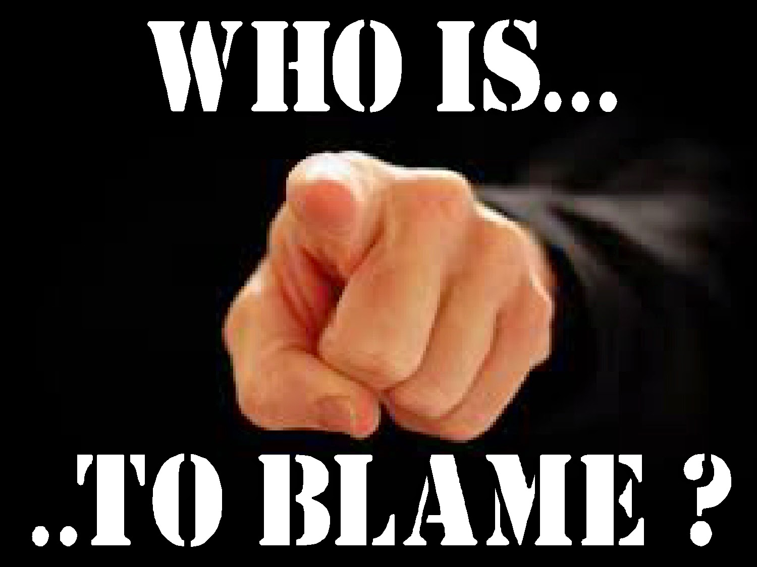 who to blame for the american There are plenty of people and institutions to blame for the election of donald trump  americans were losing the chance to earn a living'  they gave birth to america's first.