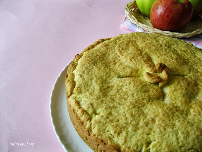torta di mele!! • apple pie!!