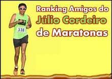 Ranking Amigos do Júlio Cordeiro de Maratonas