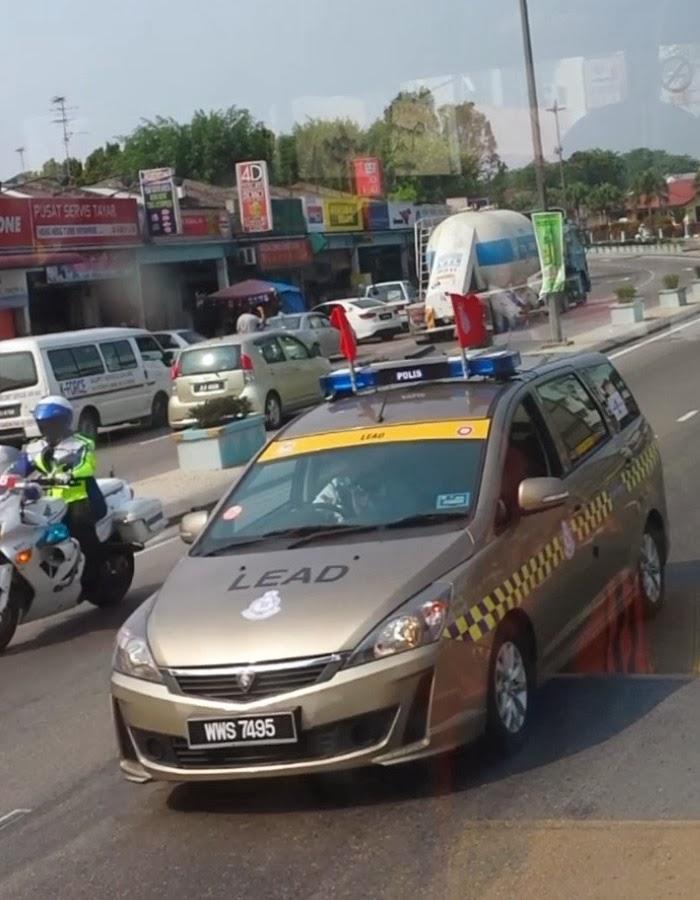 Proton Exora Police Car Lead