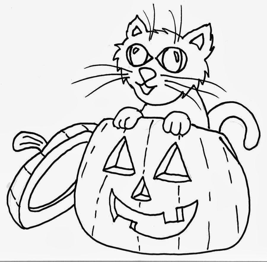 Dibujos de Halloween para colorear e imprimir ~ Dibujos ...
