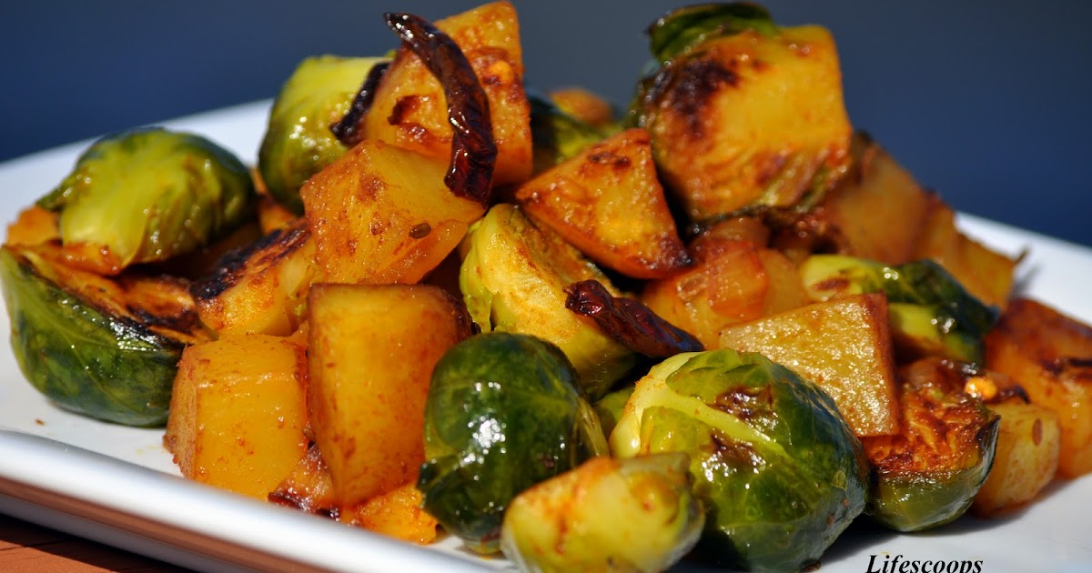 life scoops brussels sprouts and potato. Black Bedroom Furniture Sets. Home Design Ideas