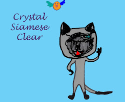 India's Blog: Crystal Siamese Clear