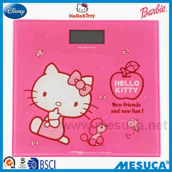 Timbangan digital hello kitty