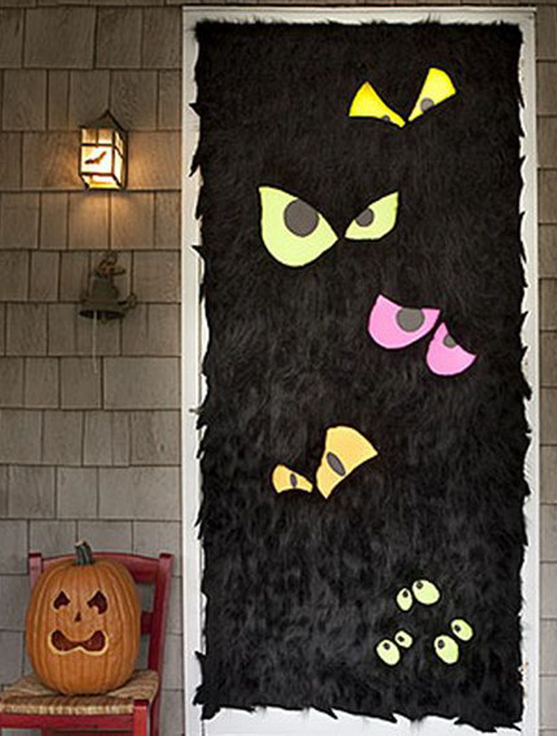 ideas customes doors halloween