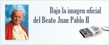 IMAGEN OFICIAL DEL BEATO JUAN PABLO II
