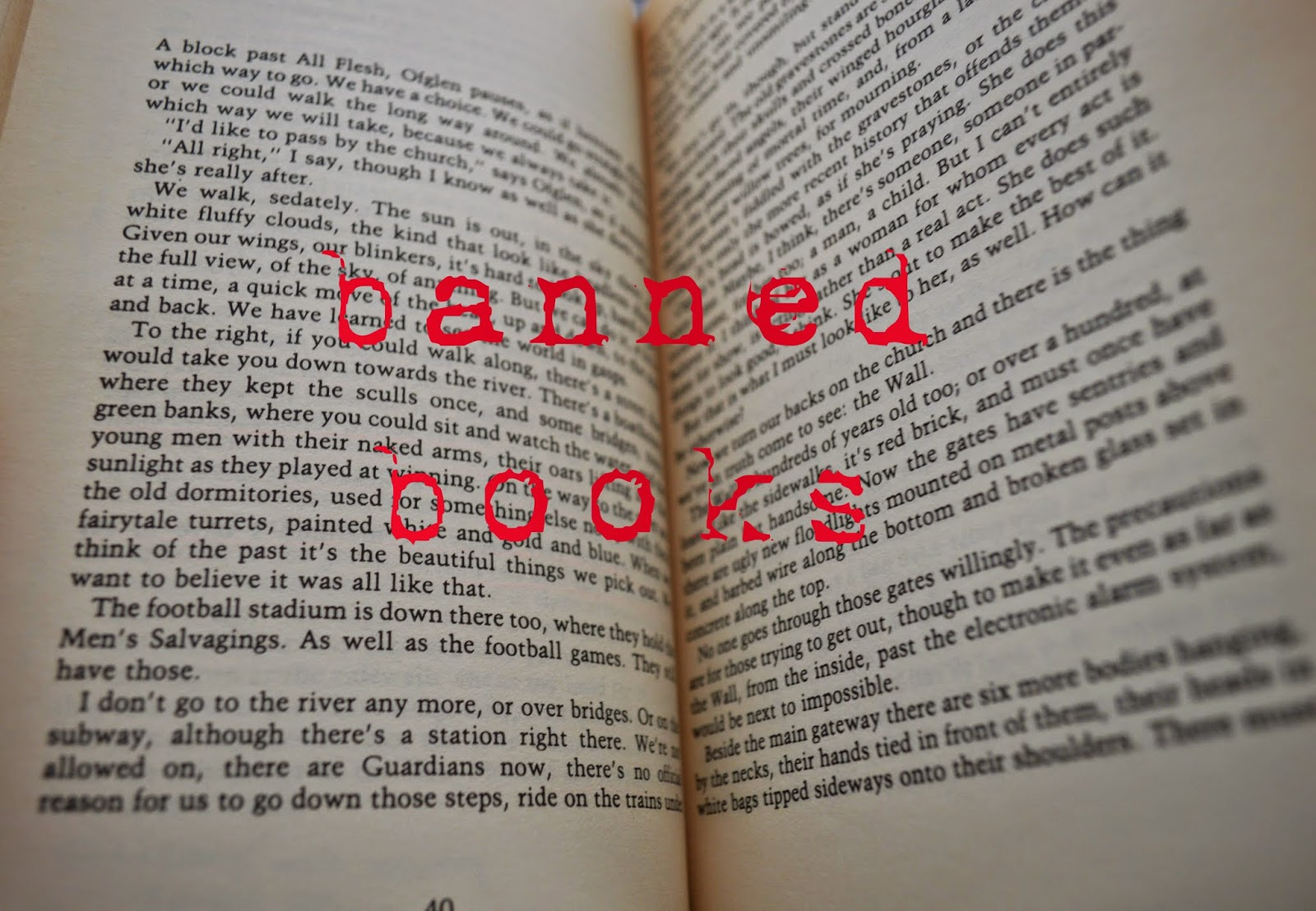 I read banned books, list, censorship, UK banned books, USSR, record, US, reason, literature, photo, photograph