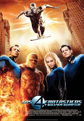 Los 4 Fantásticos y Silver Surfer poster