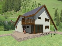 Locuinţă  cu structură din lemn 13 Li