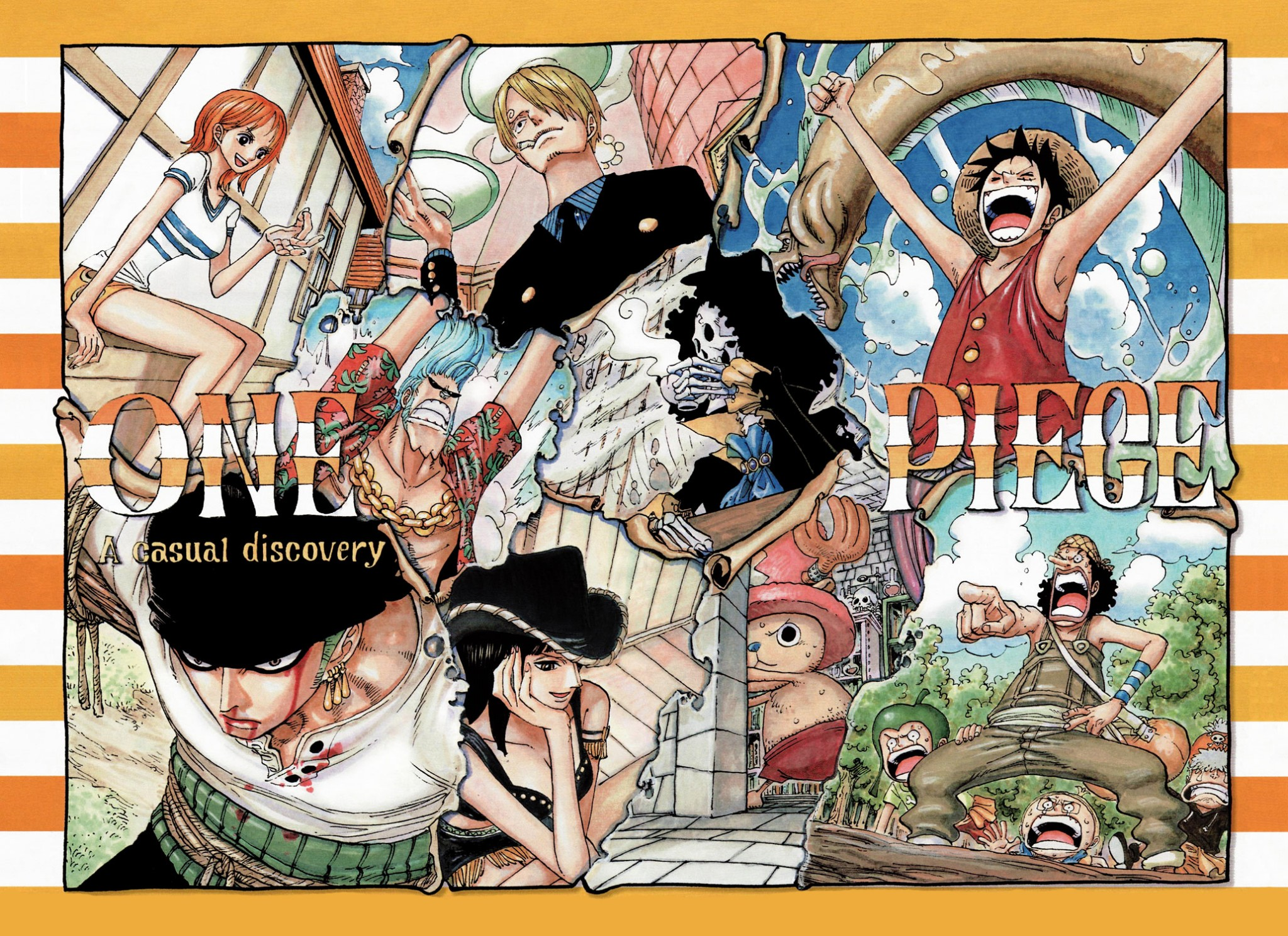 Straw Hat Pirates After 2 Years Wallpaper Luffy Hd