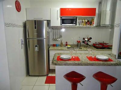 Dise os de cocinas peque as con desayunadores for Cocinas pequenas con desayunador fotos
