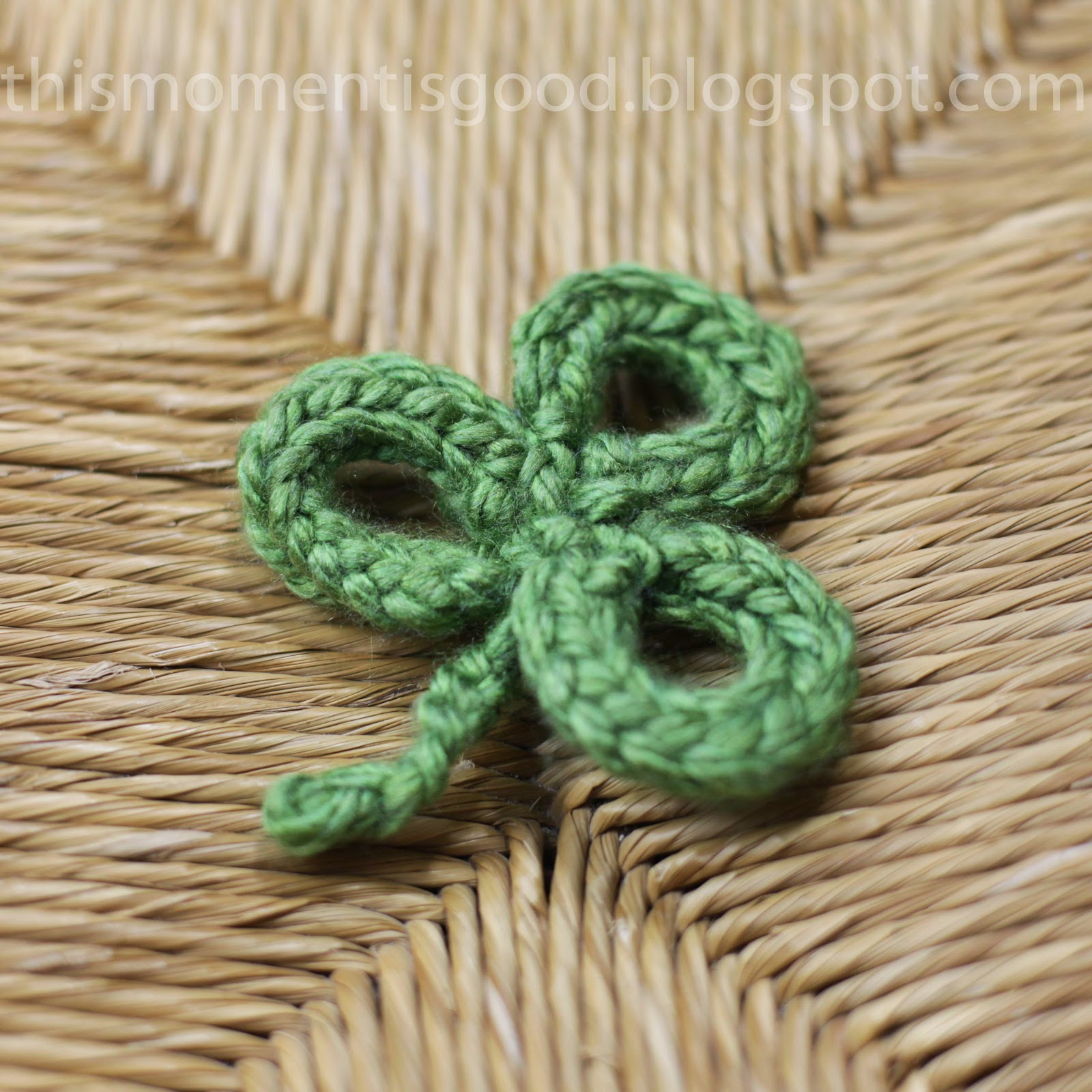 Loom Knitting by This Moment is Good!: LOOM KNIT SHAMROCK/3 LEAF CLOVER PATTERN