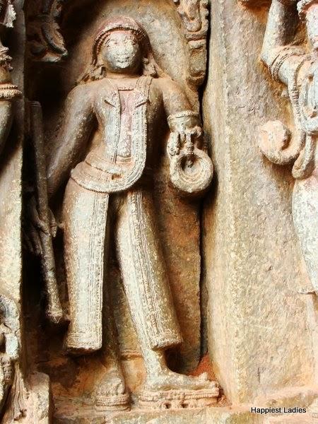 Purandaradasa at Hoysala Temple Hosaholalu
