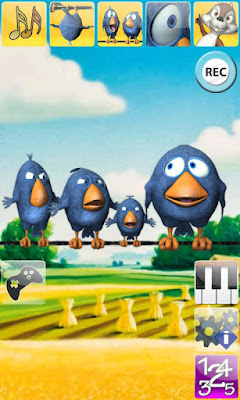 Talking Birds On A Wire AdFree android app