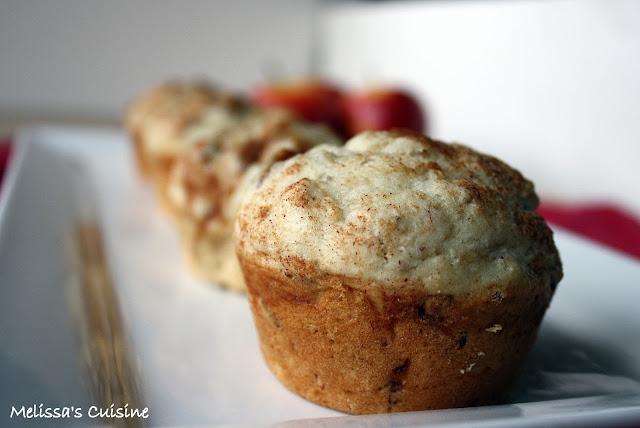 Melissa's Cuisine: Apple Cinnamon Muffins
