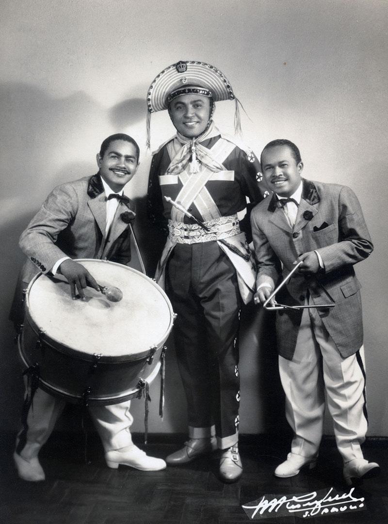 Luiz Gonzaga e o primeiro trio de forró