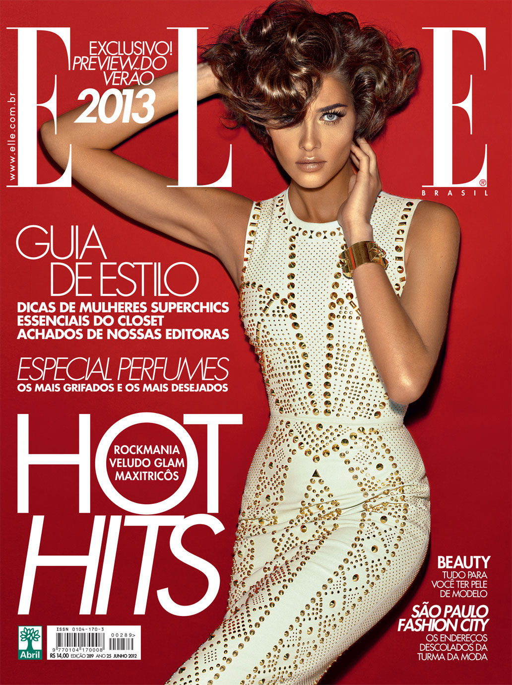 Elle Brazil June 2012 : Ana Beatriz Barros by Gui Paganini