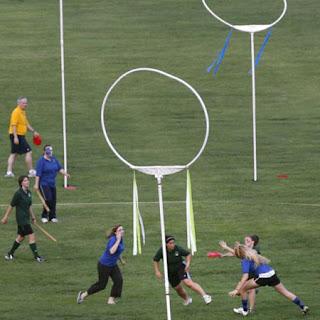 quidditch frisbee