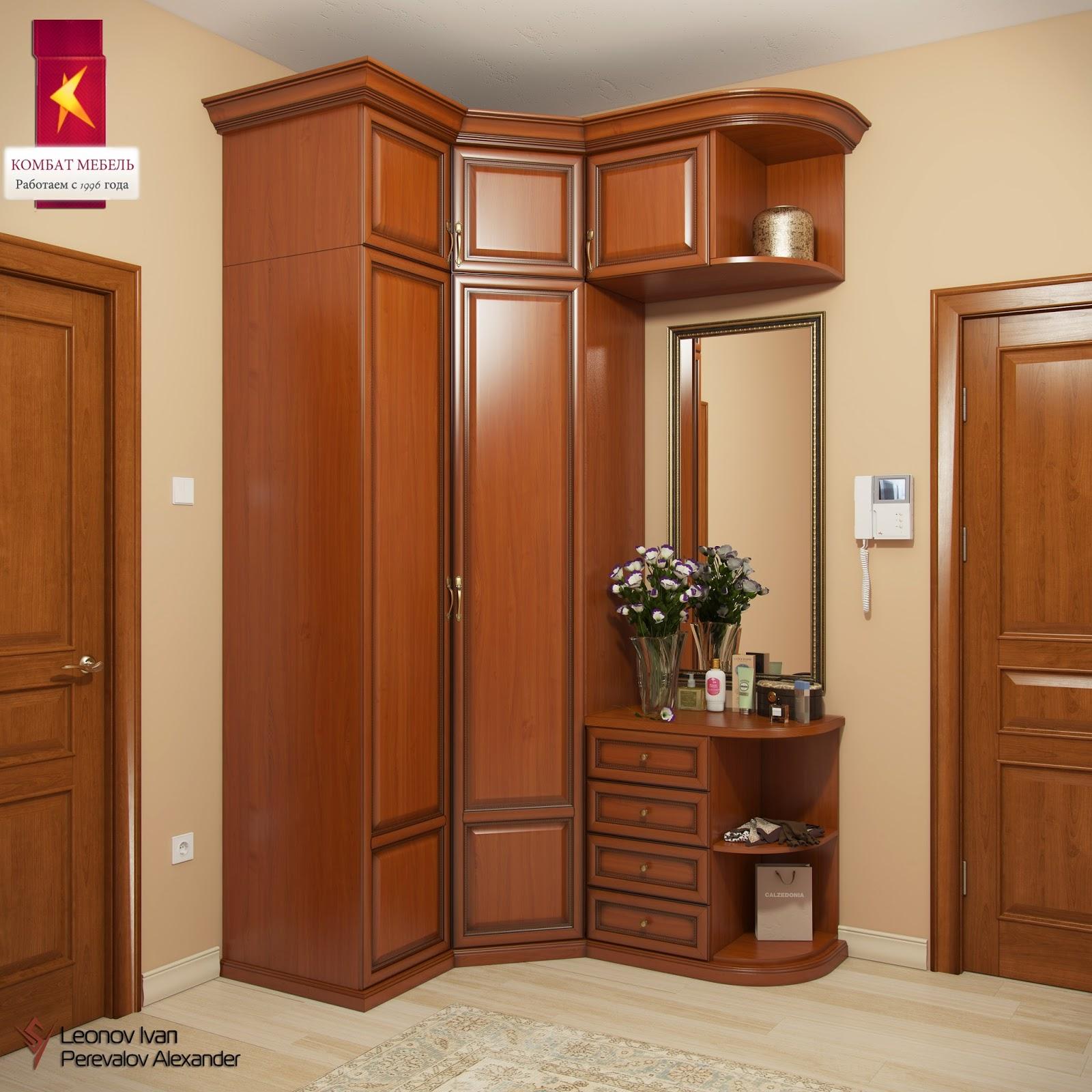 Угловые шкафы в прихожую в классическом стиле балтийский шка.