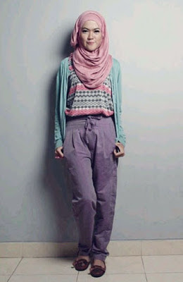 hijab ramadhan 3 Model Gaya Hijab Terbaru di Bulan Ramadhan