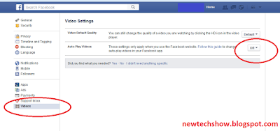 facebook autoplay videos