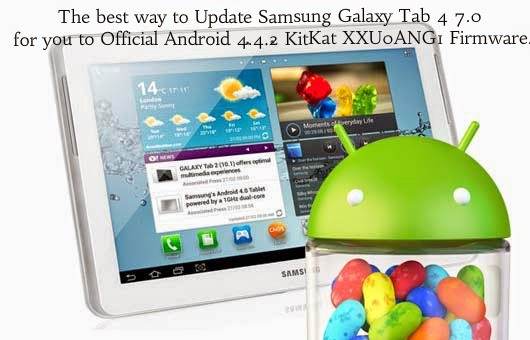 How to update Samsung Galaxy Tab 4 7.0 T230 anroid 4.4.2, How to update samsung galaxy tab to android 4.4.2 Kitkat