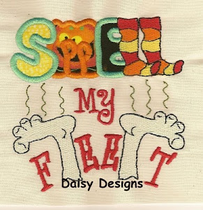 Smell My Feet Applique
