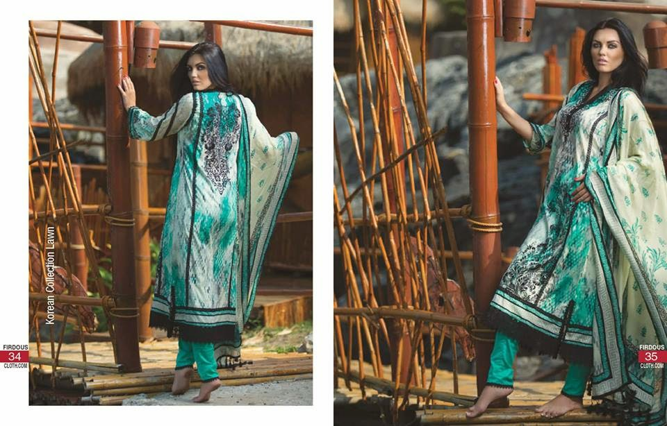 Firdous 2015 summer lawn collection