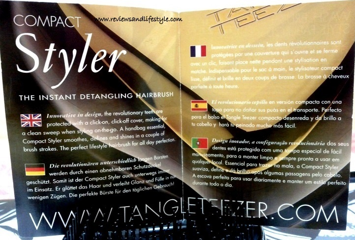 Tangle Teezer Compact Styler Detangling Hairbrush Review
