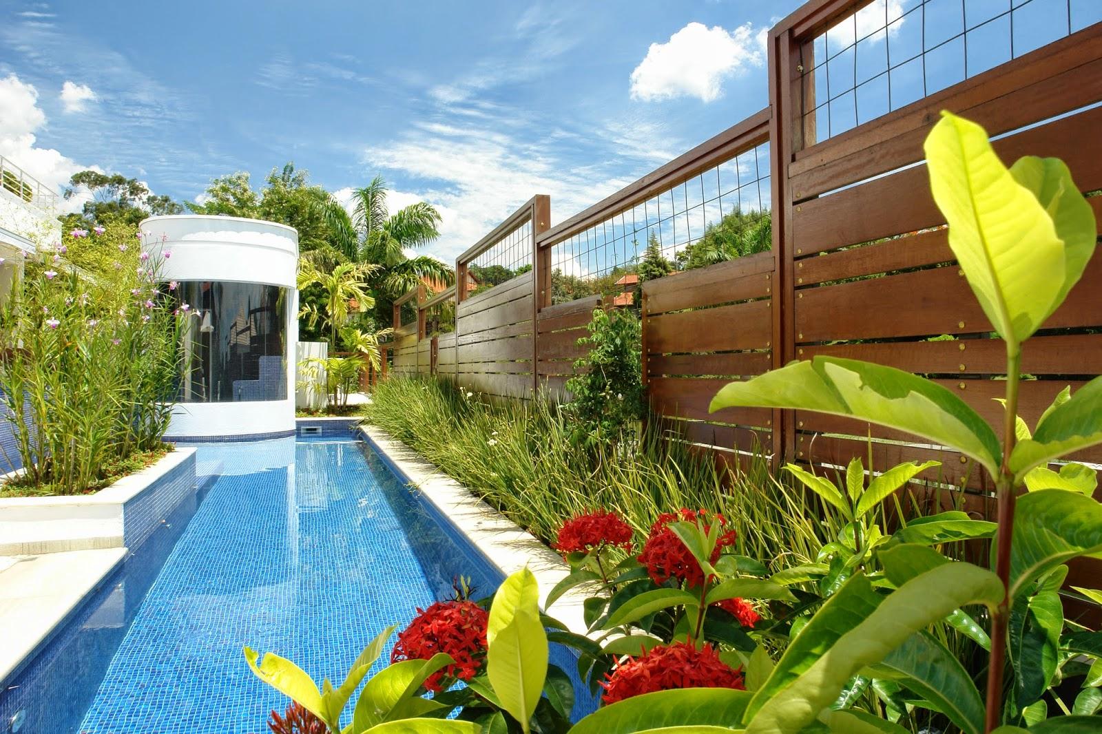 Jardins thays diandra arquiteta boa vista roraima for Jardim na piscina