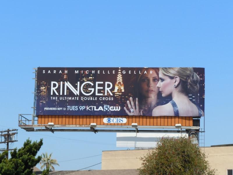 Ringer Sarah Michelle Gellar billboard