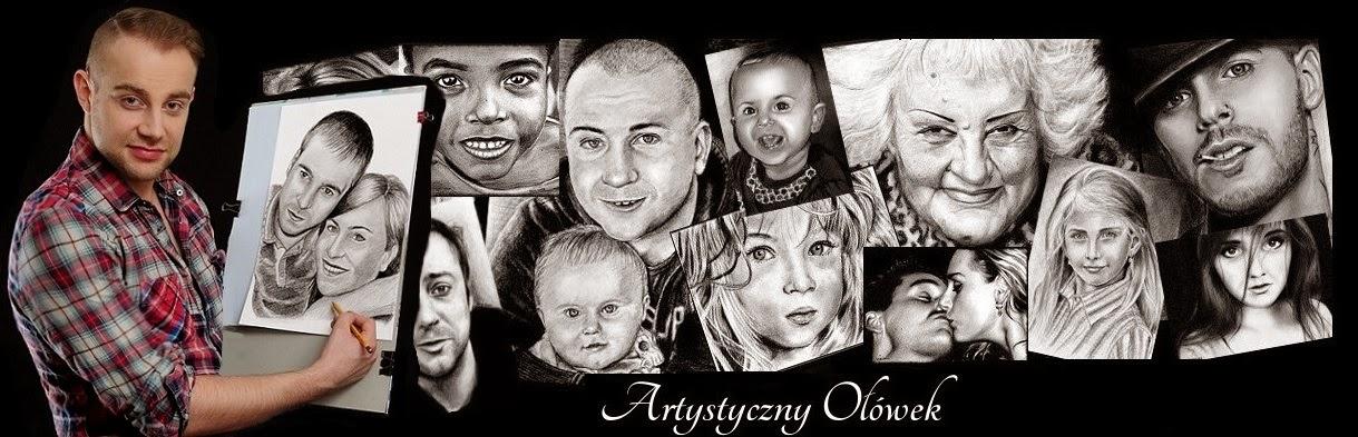 Artystyczny Ołowek Portrety