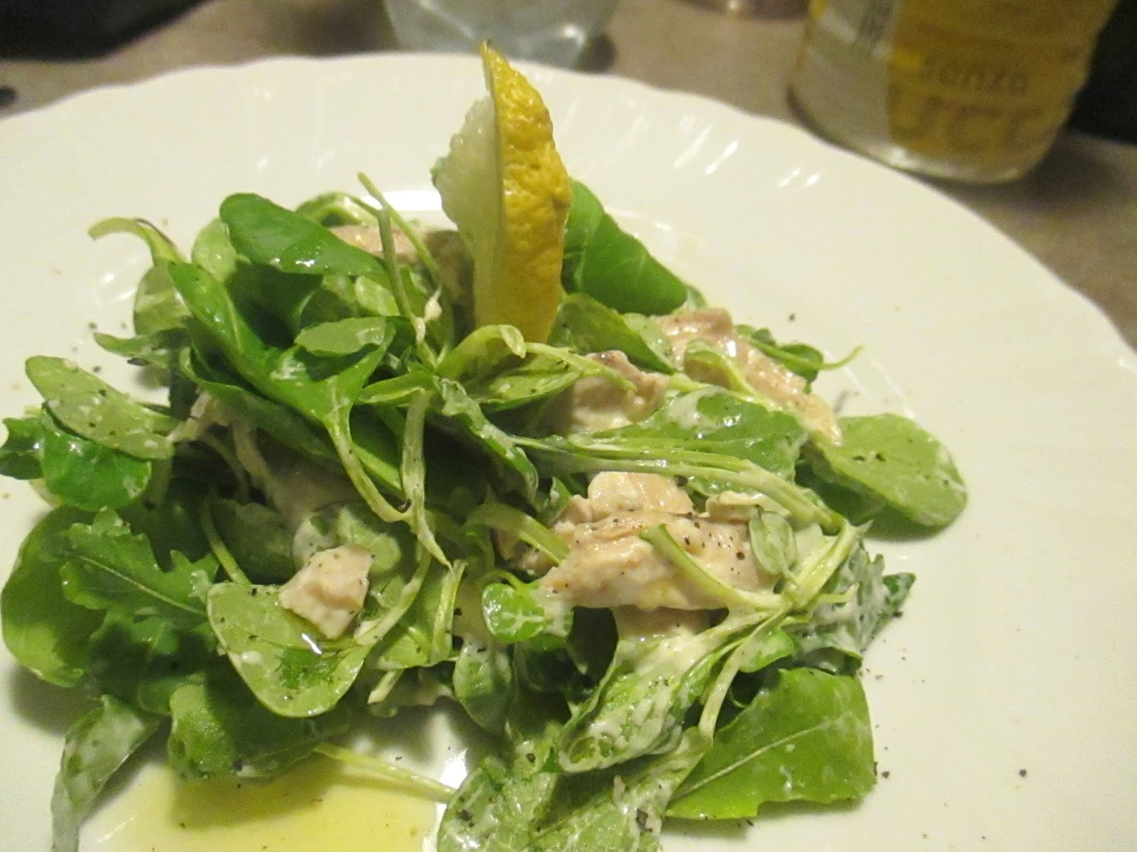 Salad of soncino turkey mayonnaise and black truffle for Soncino insalata