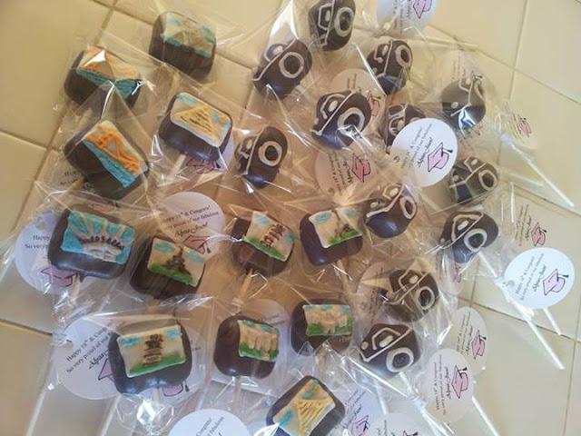 Summer Travel inspired Cake Pops by Elaine's Cake Pops