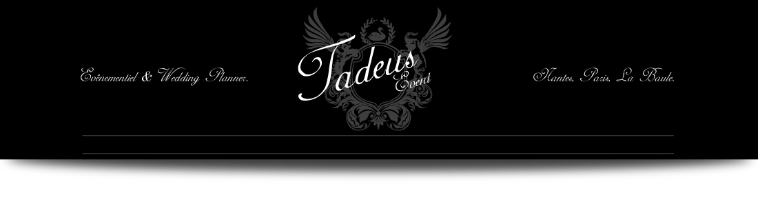 Tadeus wedding planner nantes
