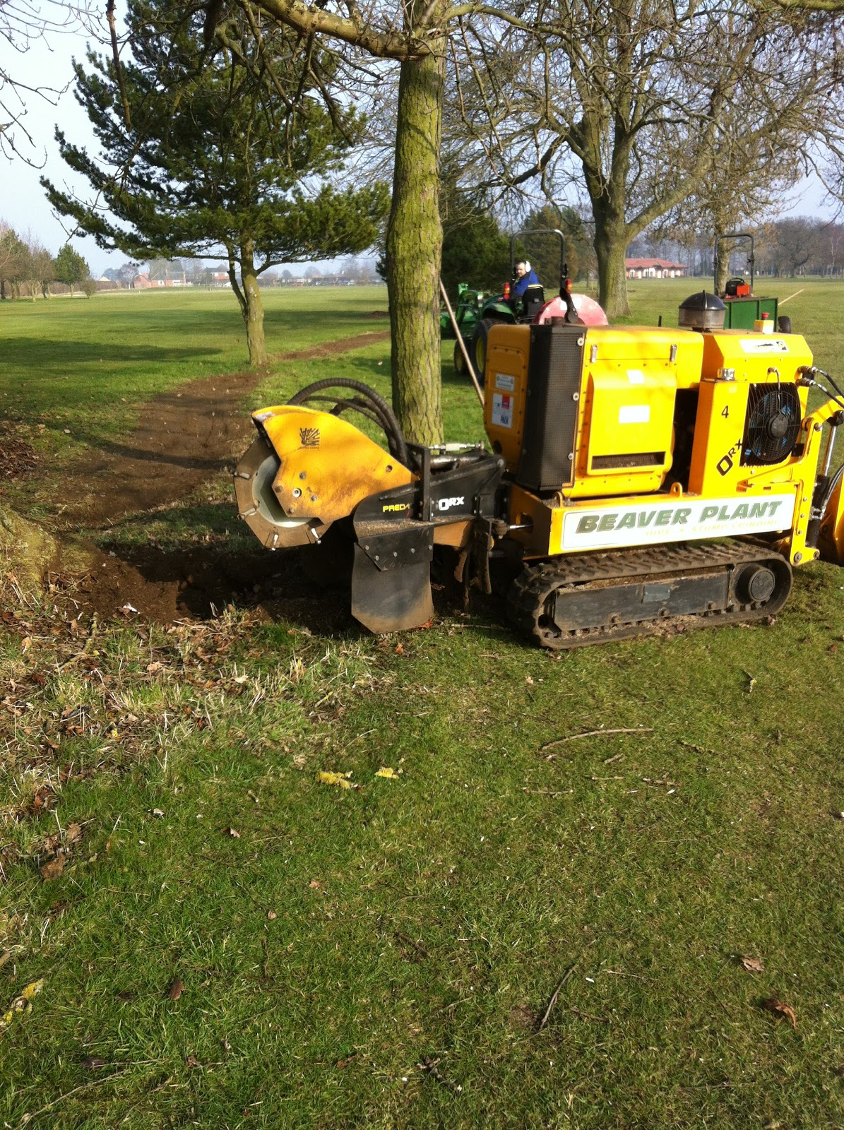 Malton And Norton Golf Club Greens Department Stump Grinding