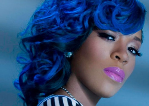 Michelle Blue Hair Styles Did k. michelle over think K Michelle And Joseline Hernandez