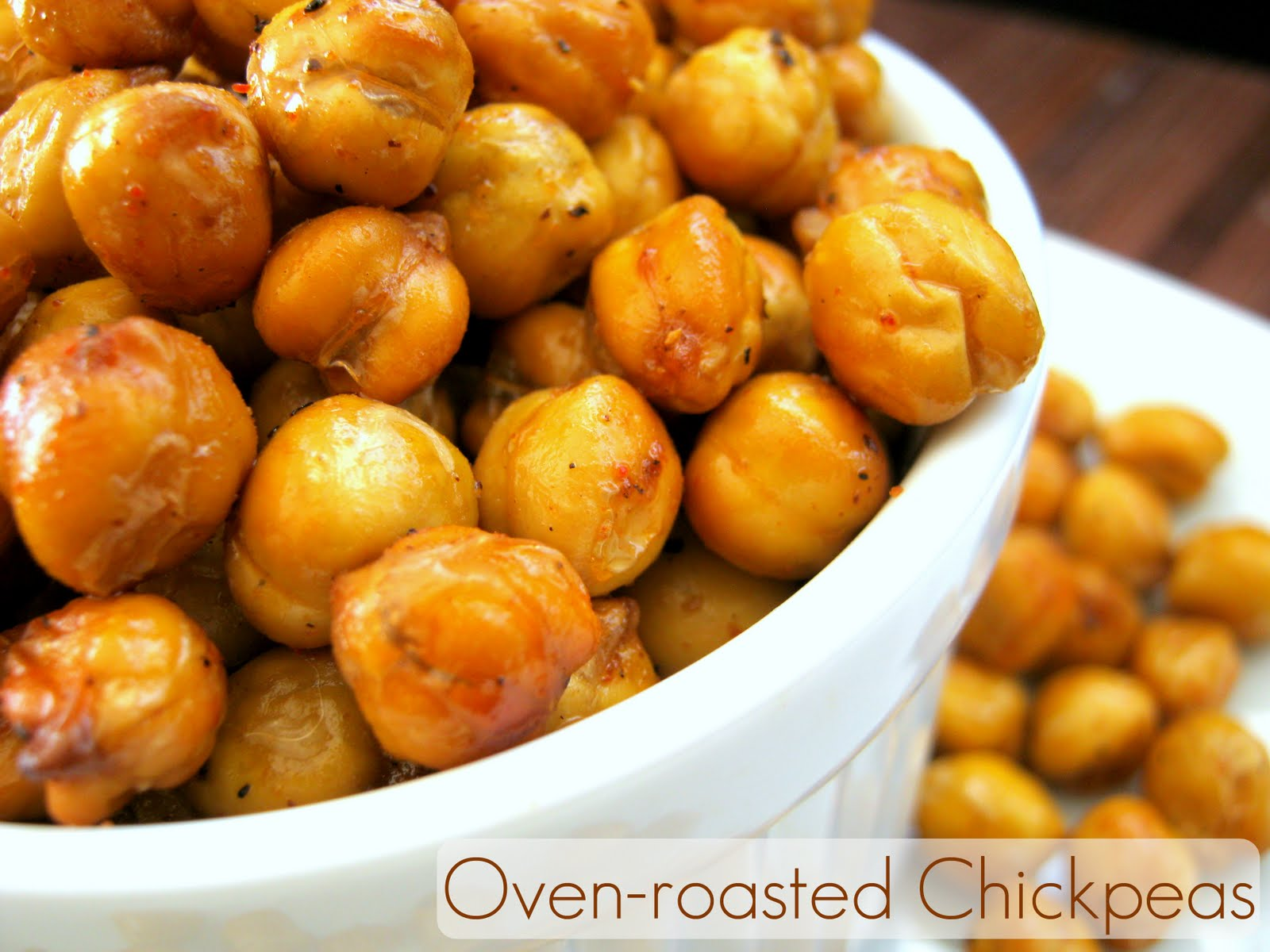 The Inner Gourmet: Fried Channa (Chickpeas) Made Healthier
