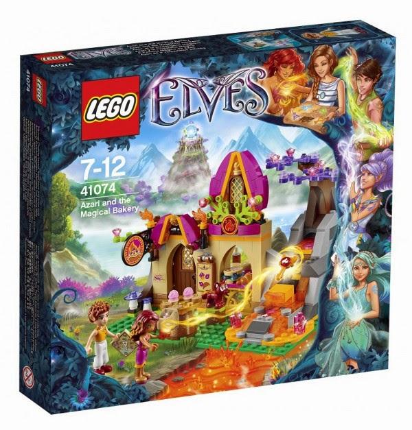 JUGUETES - LEGO Elves  41074 Azari y La Pastelería Mágica  Producto Oficial 2015 | Piezas: | Edad: 7-12 años