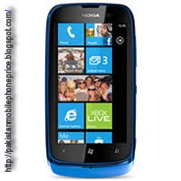 Nokia Lumia 610 price in Pakistan phone full specification