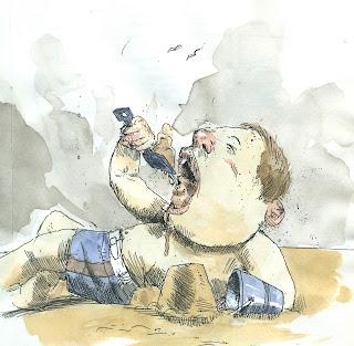 children beach sand eating
