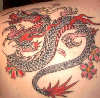 dragon tattoo designs for girls design art. Black Bedroom Furniture Sets. Home Design Ideas