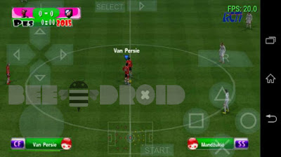 PES 2016 Full ISL Team PSP Android Terbaru