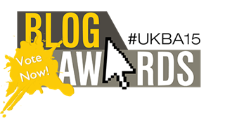 Vote for somewhere... beyond the sea in the 2015 UK Blog awards